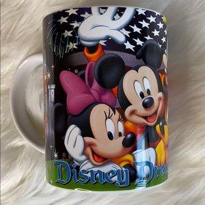 NWT Disney Dreams Florida Jerry Leigh coffee mug